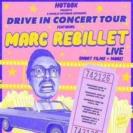 Marc Rebillet Live Poster